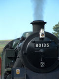 Dampf-Eisenbahn-Maschine Lizenzfreie Stockfotos