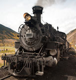 Dampf-Lokomotive Lizenzfreie Stockbilder