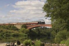 Dampf-Lokomotive Stockbild