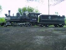 2-8-0 Dampf-Lokomotive Stockbilder