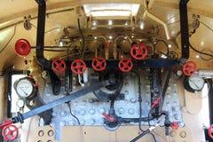 Dampf-Lokomotive D4 268 Lizenzfreie Stockfotografie