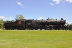Dampf-Lokomotive-kanadischer Staatsangehöriger Stockfoto