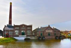 Dampf-Maschinen-Museum in Medemblik Stockbild