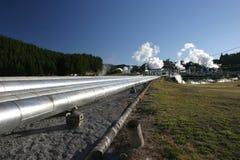 Dampf-Rohre 2 stockbild