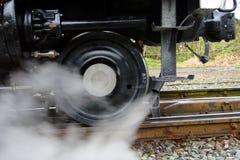 Dampf-Serien-Rad Stockfotos