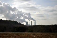 Dampf von den Kraftwerken Lizenzfreies Stockfoto