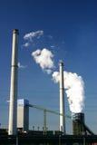 Dampf von einer Kokerei stockbilder