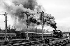Dampf-Zug stockfotografie