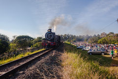 Dampf-Zug-Kameraden Marathon Hillcrest Stockfotografie
