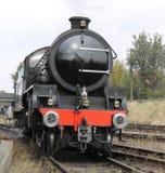 Dampf-Zug-Maschine lizenzfreie stockbilder