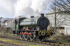 Dampf-Zug am summerseat Lancashire Lizenzfreie Stockbilder