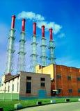 Dampfkessel-Haus Stockfotos