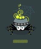 Dampfkessel ist eine Spinne A vektor abbildung