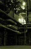 Dampfkessel, Strichleitern und Rohre Lizenzfreie Stockfotos