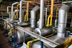 Dampfkesselraum Stockbilder
