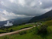 Dampflinie geothermische Energie Lizenzfreies Stockbild