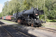 Dampflokomotive Lizenzfreie Stockfotos
