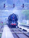 Dampflokomotive Lizenzfreie Stockfotos