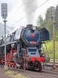 Dampflokomotive Stockfotografie