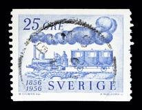 Dampflokomotive, Fryckstad und Personenbeförderung, Jahrhundert von Lizenzfreie Stockbilder