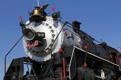 Dampflokomotive I Stockfotos