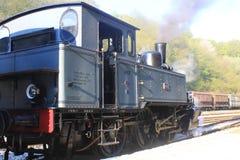 Dampflokomotive in Vernarrt-De-Gras, Luxemburg Lizenzfreies Stockfoto