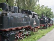 Dampflokomotiven Museum, Resita, Rumänien lizenzfreie stockfotografie