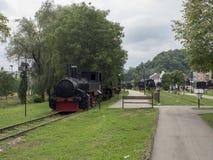 Dampflokomotiven Museum, Resita, Rumänien stockfotografie