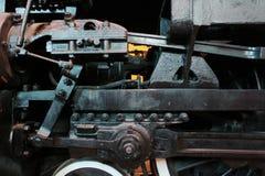 Dampflokomotivmechanismus Lizenzfreies Stockbild