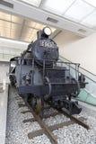 Dampflokomotivnein Anzeige C5631 am Yushukan-Museum Lizenzfreie Stockfotos