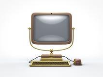 Dampfpunkweinlesecomputer Lizenzfreies Stockfoto