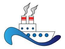 Dampfschiff Stockfotos