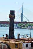 Dampfschiff Stockfotografie
