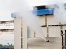 Dampfschlag Lizenzfreie Stockbilder