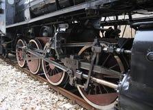 Dampfserie auf Eisenbahn treno ein vapore Lizenzfreies Stockfoto