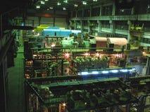 Dampfturbinen, Maschinerie, Rohre, Gefäße Stockbild