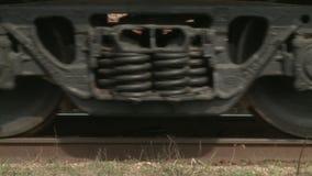 Dampfzugräder stock footage