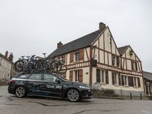 Technical Car of Team Sky - Paris-Nice 2018 Stock Images