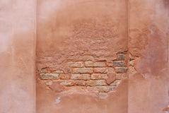 Dampness brickwall royalty free stock image