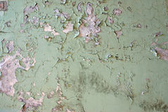 Dampness wall. Abstract background with moisturized wall Royalty Free Stock Photo