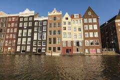 Damrak Амстердам стоковая фотография rf