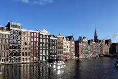 Damrak, Amsterdam Fotografie Stock Libere da Diritti
