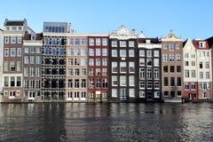 Damrak, Amsterdam Immagini Stock