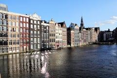 Damrak, Amsterdam Immagine Stock