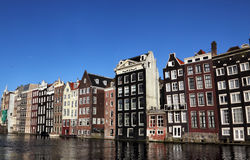 Damrak, Amsterdam Fotografia Stock Libera da Diritti