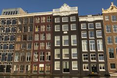 Damrak Amsterdam royalty free stock photos