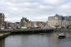 Damrak Amsterdam Stock Images