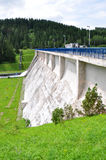 Dams and concrete dam, Slovakia, Europe Stock Photography