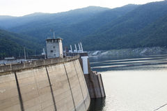 Dams for electricity Royalty Free Stock Images