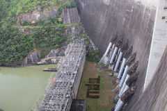 Dams for electricity Royalty Free Stock Image